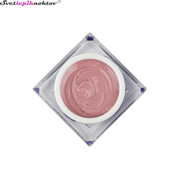 SLN 3v1 LED/UV-gel za nohte, 15 ml, french prima donna - nude profesionalen gel za vse faze modeliranja