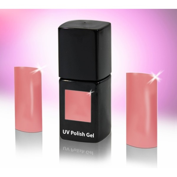 UV-Polishgel, trajni UV-lak za nohte, 12 ml, starinsko roza