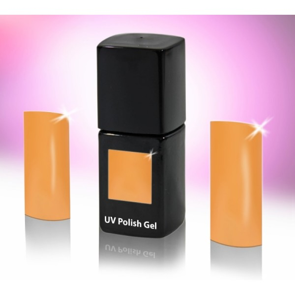 UV-Polishgel, trajni UV-lak za nohte, 12 ml, marelica