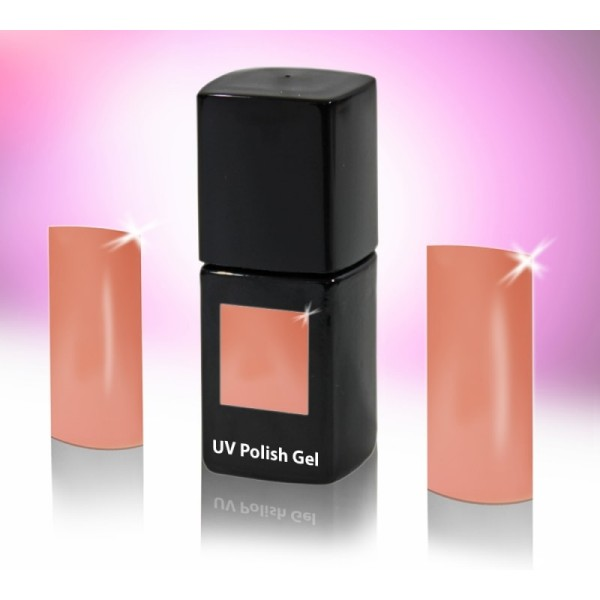 UV-Polishgel, trajni UV-lak za nohte, 12 ml, svetlo koralna