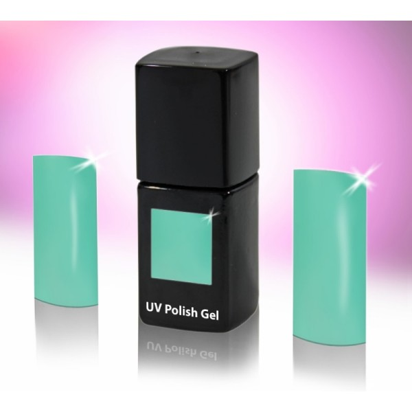 UV-Polishgel, trajni UV-lak za nohte, 12 ml, turkizna