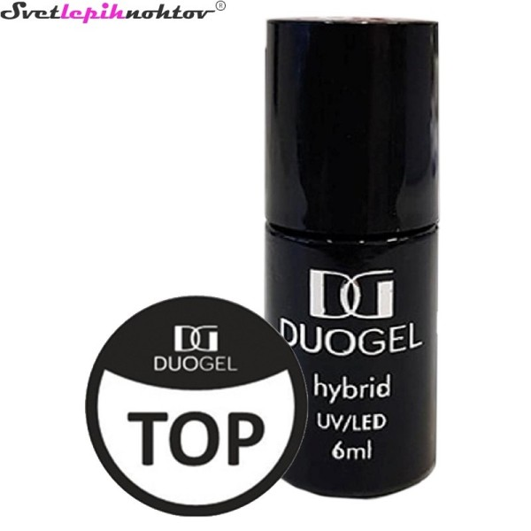 DUOGEL komplet trajnih lakov - Base, Top in Top Mat, 6 ml