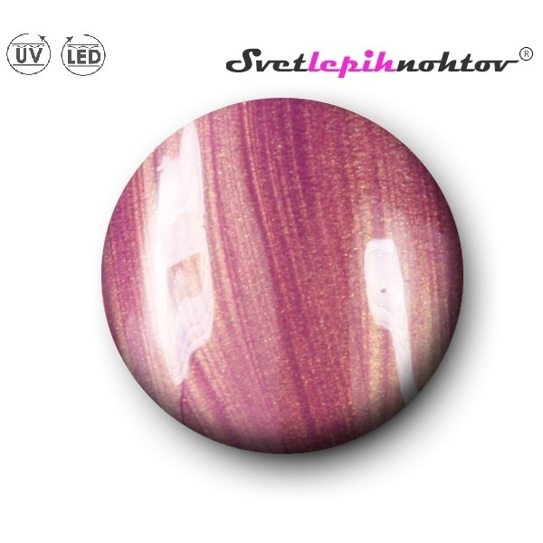 Goldie Dreamball UV/LED-gel, 5 ml, violett gold, za barvanje nohtov