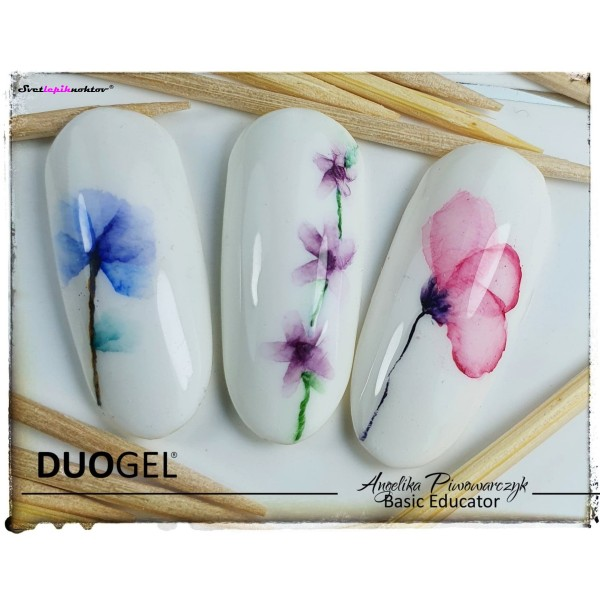 Ink DUOGEL lak za poslikavo, 7 ml, barva Magic Pink