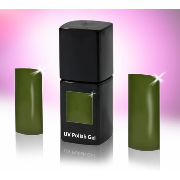UV-Polishgel, trajni UV-lak za nohte, 12 ml, kaki