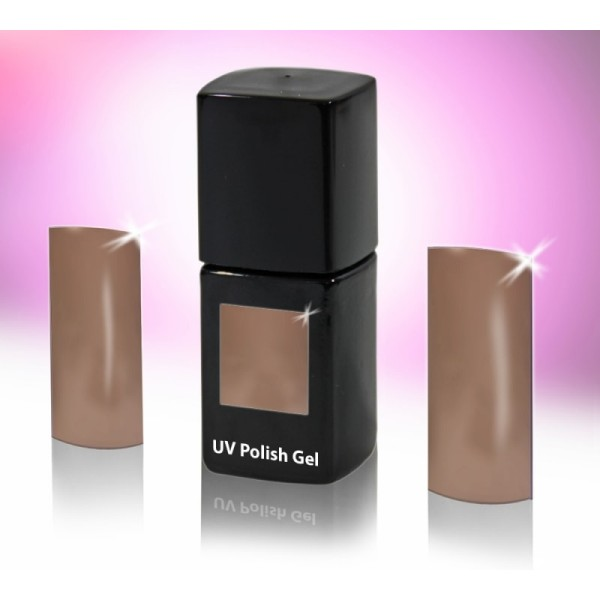 UV-Polishgel, trajni UV-lak za nohte, 12 ml, nude